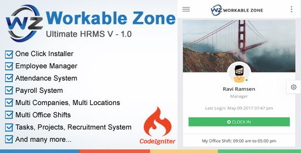 Download Hrm Workable Zone Ultimate Hr System Nulled Latest Version Project Management Tools System Project Management