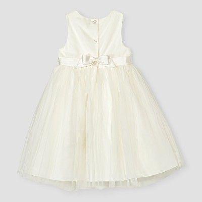 8cf680baaa9 Toddler Girls  Ballerina Flower Girl Dress - Tevolio™ Ivory 4T