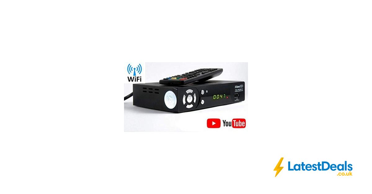 *SAVE £28* UK Freeview HD + WiFi Ready Set Top Digi Box