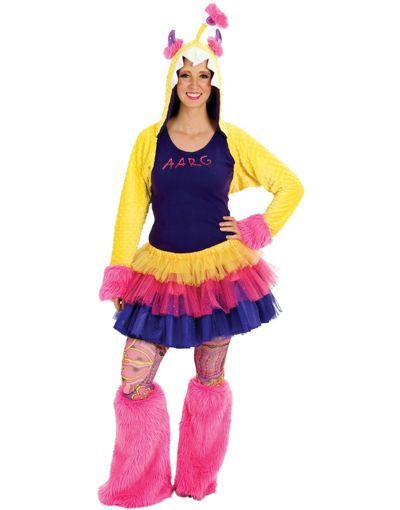 Adult Aarg Monster Costume - Party City