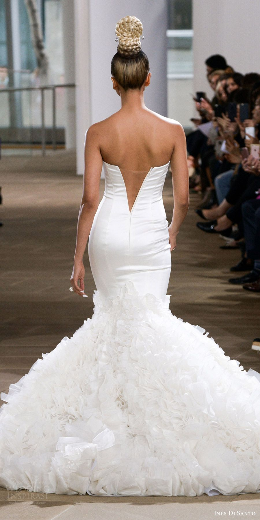 Wedding dress restoration  Ines Di Santo Spring  Wedding Dresses u New York Bridal Fashion