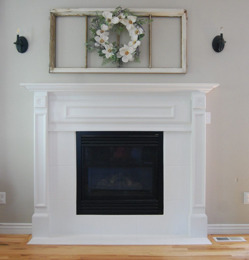 Diy fireplace makeover before and after diy fireplace