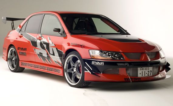 Mitsubishi Lancer Evo The Fast And The Furious Tokyo