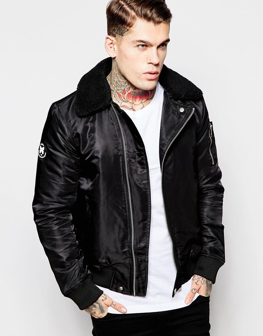 Stephen James for Good for Nothing Jackets, Leather