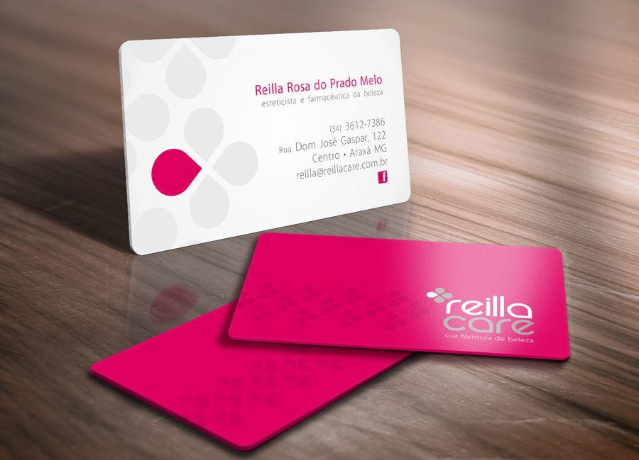 Reilla Care Card by tutom. Business card to store cosmetics. Cartão ...