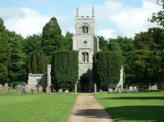 St Martin's Church at Houghton Hall
