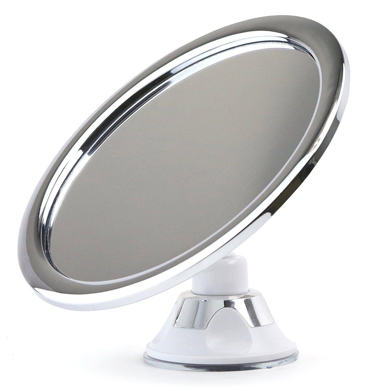 Shower Shaving No Fog No Steam Chrome Bathroom Mirror By Sparrow