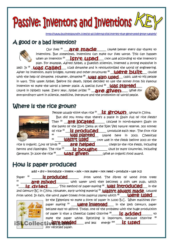 PASSIVE INVENTORS AND INVENTIONS ESL 2