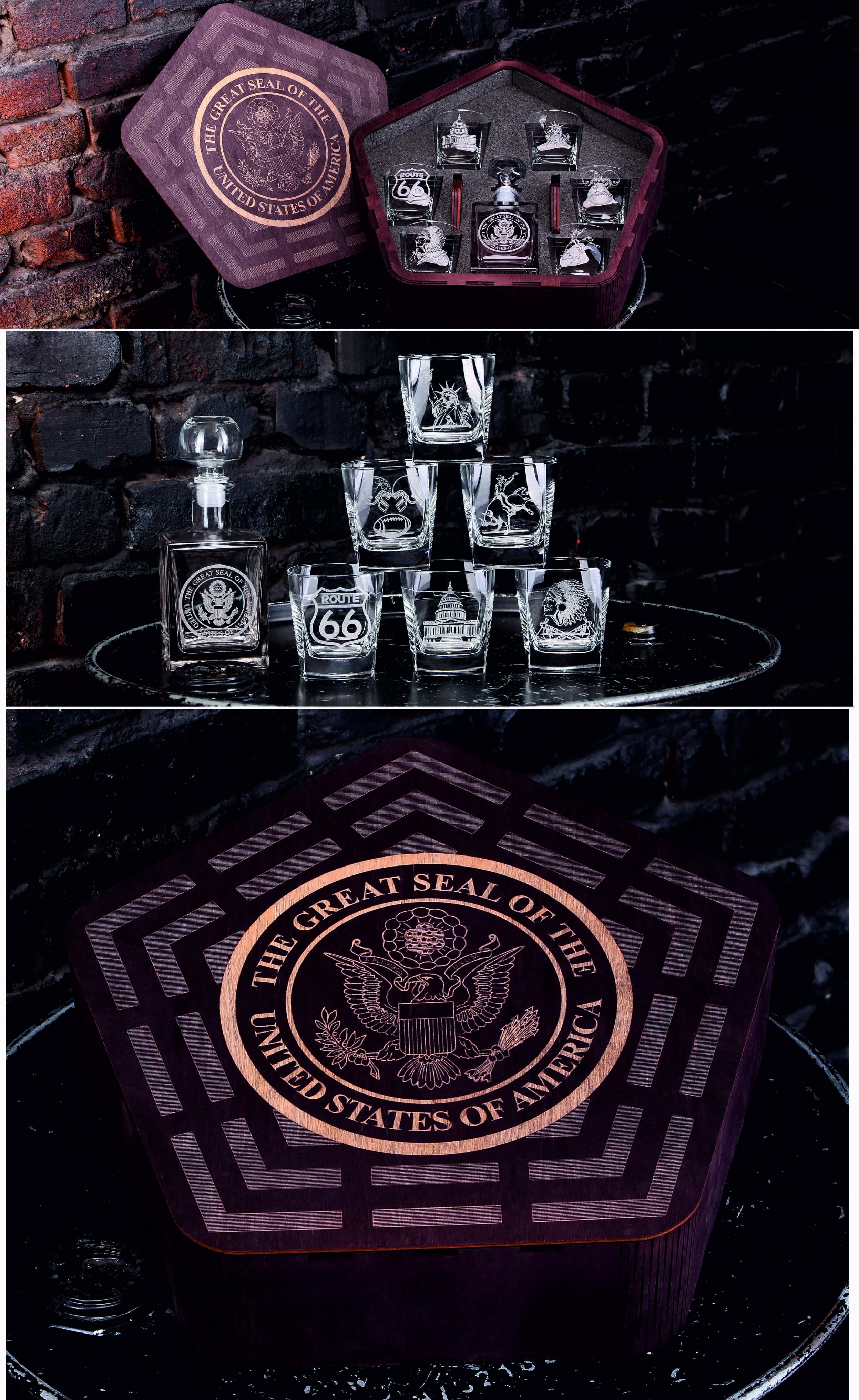 whiskey sampler gift set usa