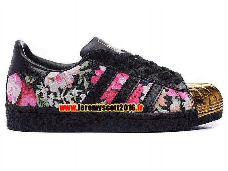 low priced 667d8 2d4b6 Adidas Originals Superstar - Chaussure Adidas Sportswear Pas Cher Pour Homme  Femme Noir Rouge