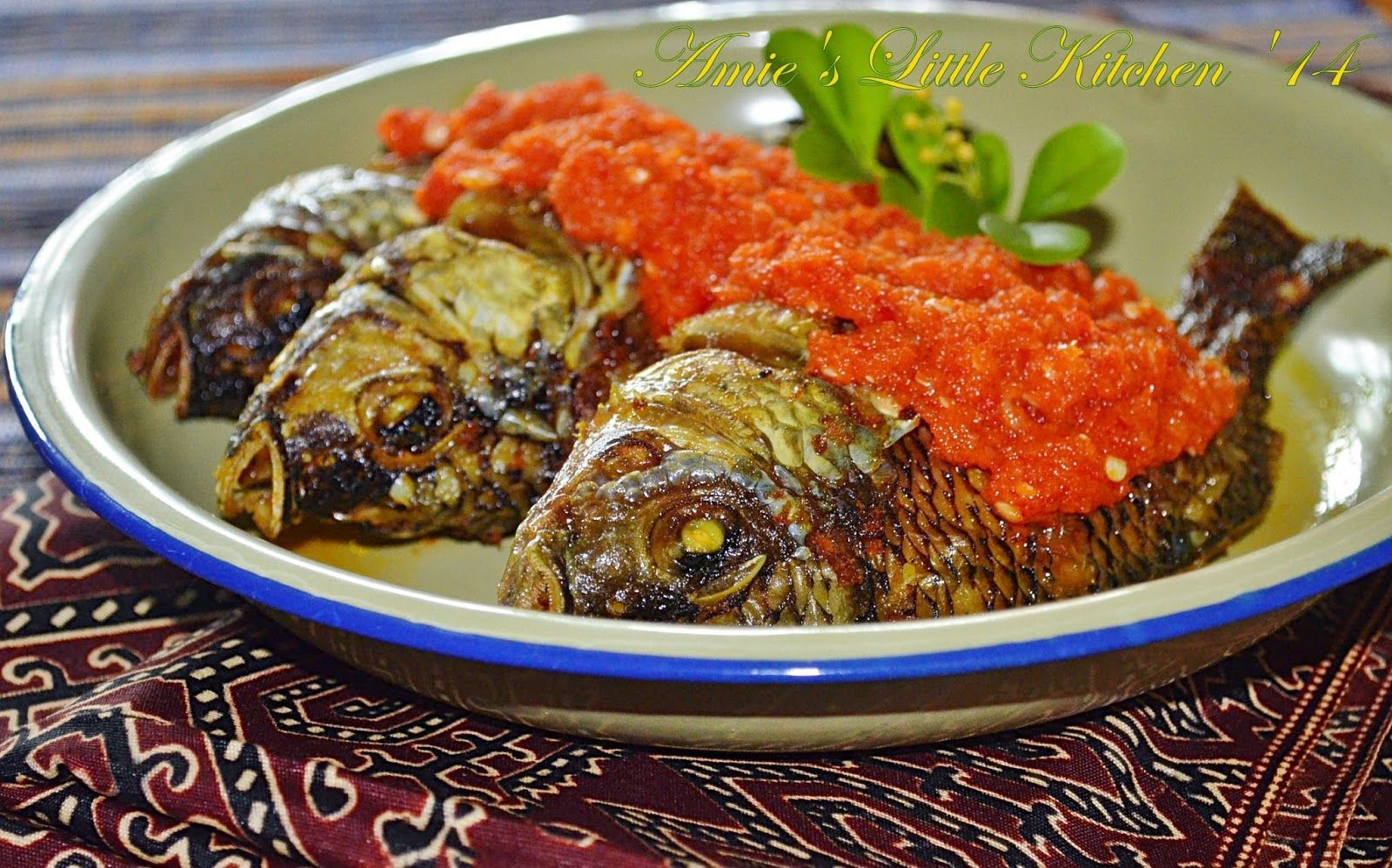 masak ikan talapia bakar hans cooking recipes Resepi Mee Udon Goreng Enak dan Mudah