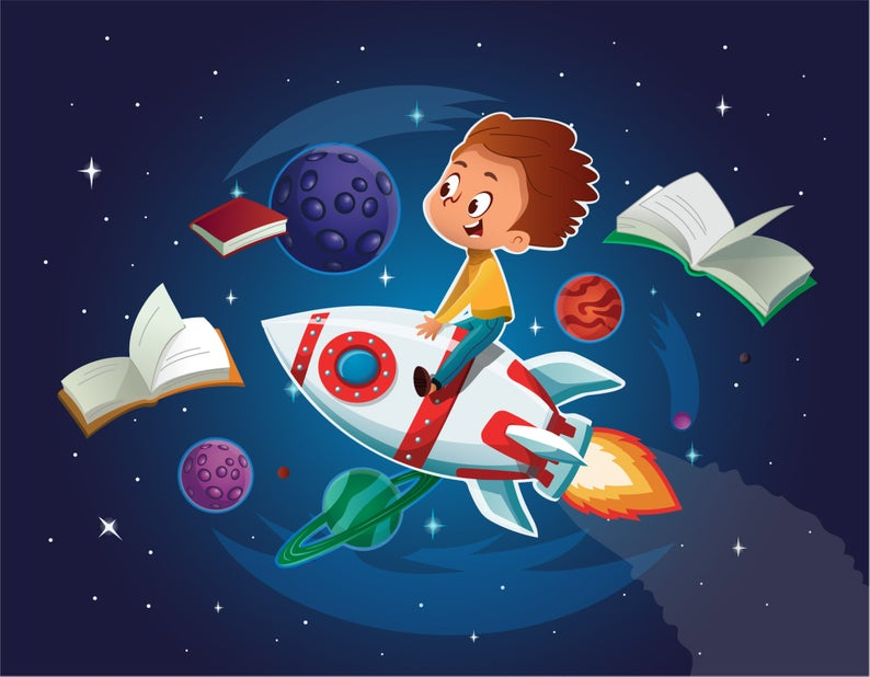 Space Boy Space Illustration Space Clipart Space Decor Rocket Svg Rocket Png Boy On A Rocket Rocket Flight Planet Clipart Books Png In 2021 Space Illustration Clip Art Cartoon Illustration
