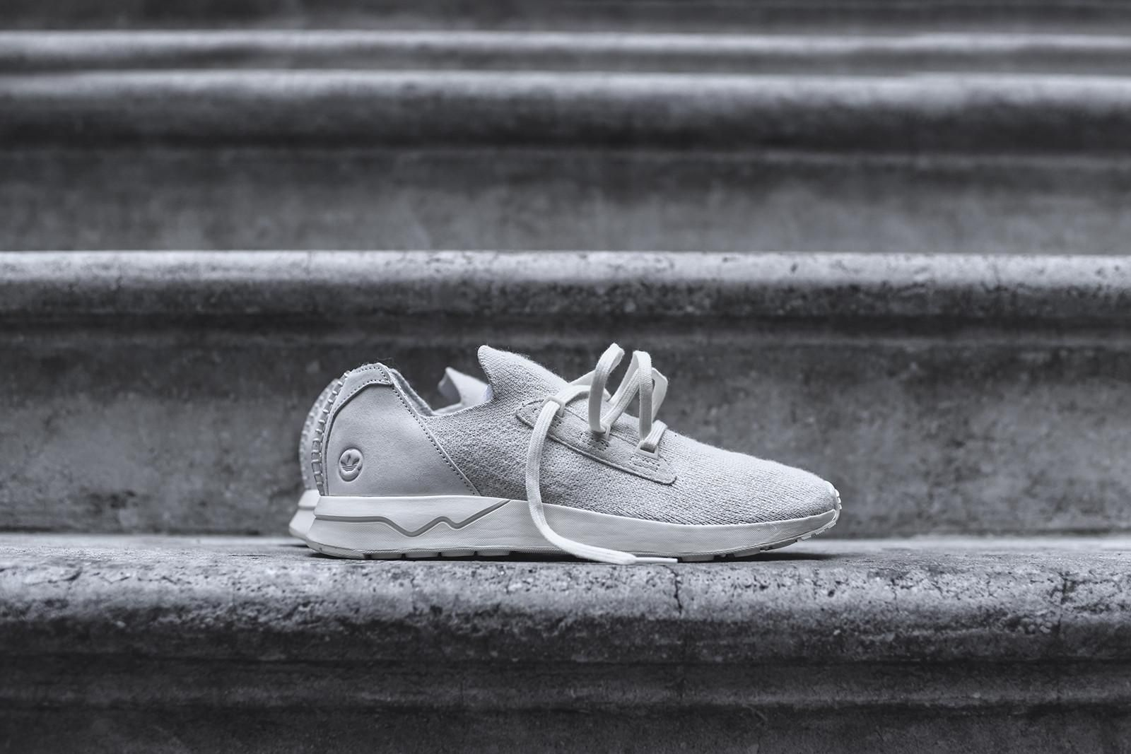 the latest 1bac9 664be adidas Consortium x Wings + Horns ZX Flux ADV PK - Off White