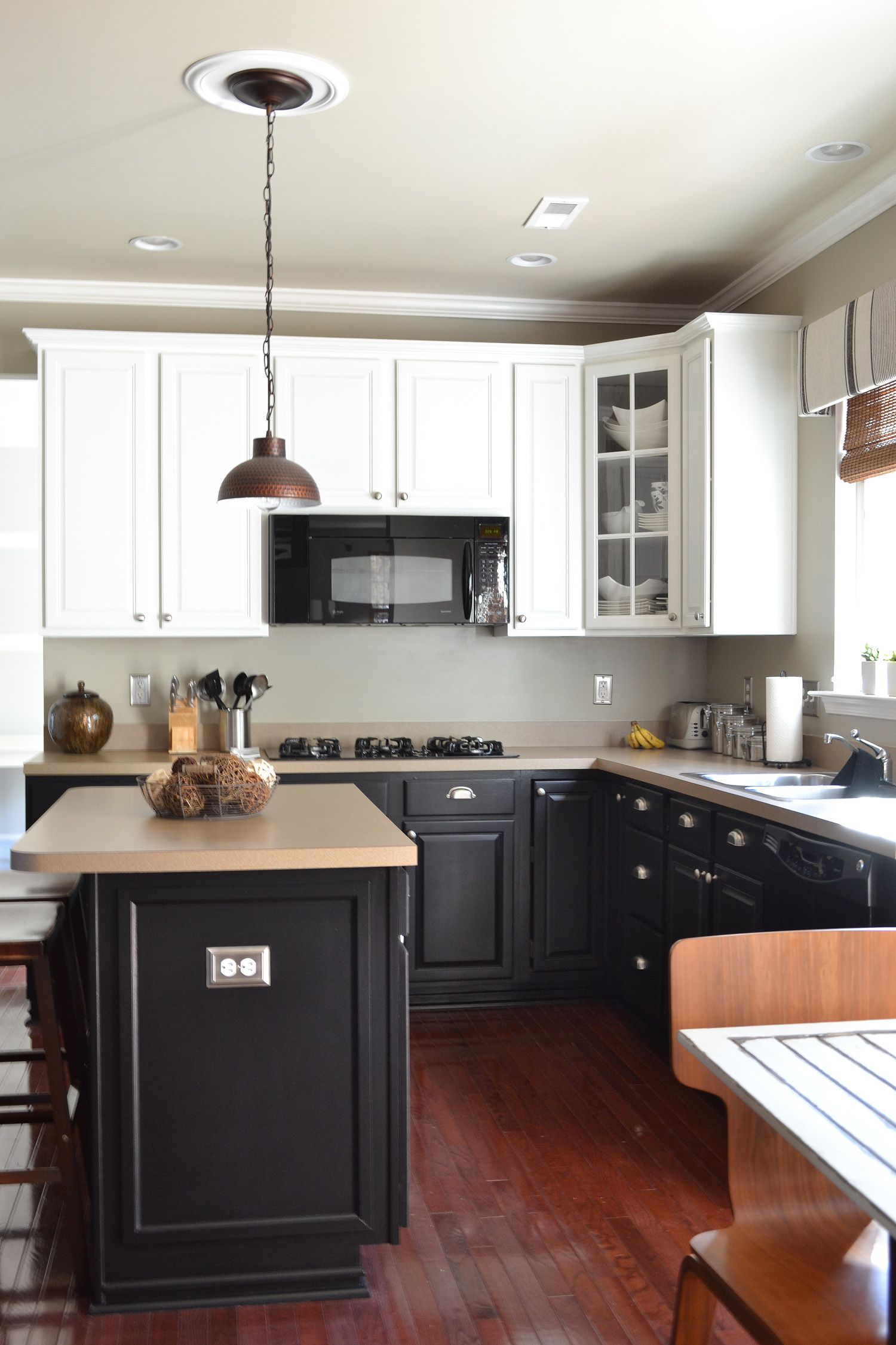 bottom kitchen cabinets pulls painted loving this idea our