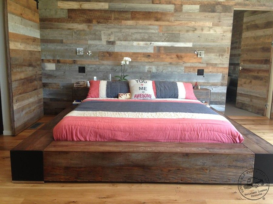 Feature Wall Paneling- Original Antique Texture Reclaimed Wood Blend