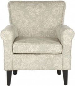 Hazina Club Chair- Abbey Mist Safaviea