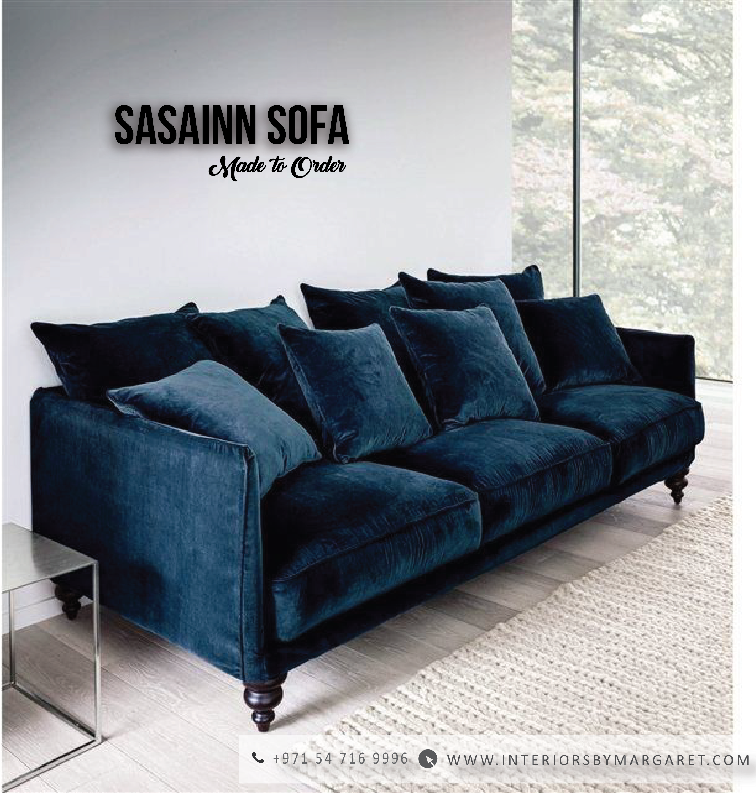 Versatile Sofa Range From Interiors By Margaret Collection Working In Generous Proportions The Desi Apartment Living Room Trendy Living Rooms Apartment Decor