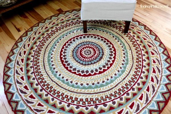 The Inspired Room Round Entry Rug