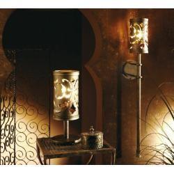 Robers Leuchten Tischleuchte Lyselle Schmiedeeisen in Messingoptik Tl4092 Robersrobers #balconylighting