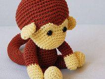 Amigurumi Monkey Pattern Häkelanleitung Knitting Crochet