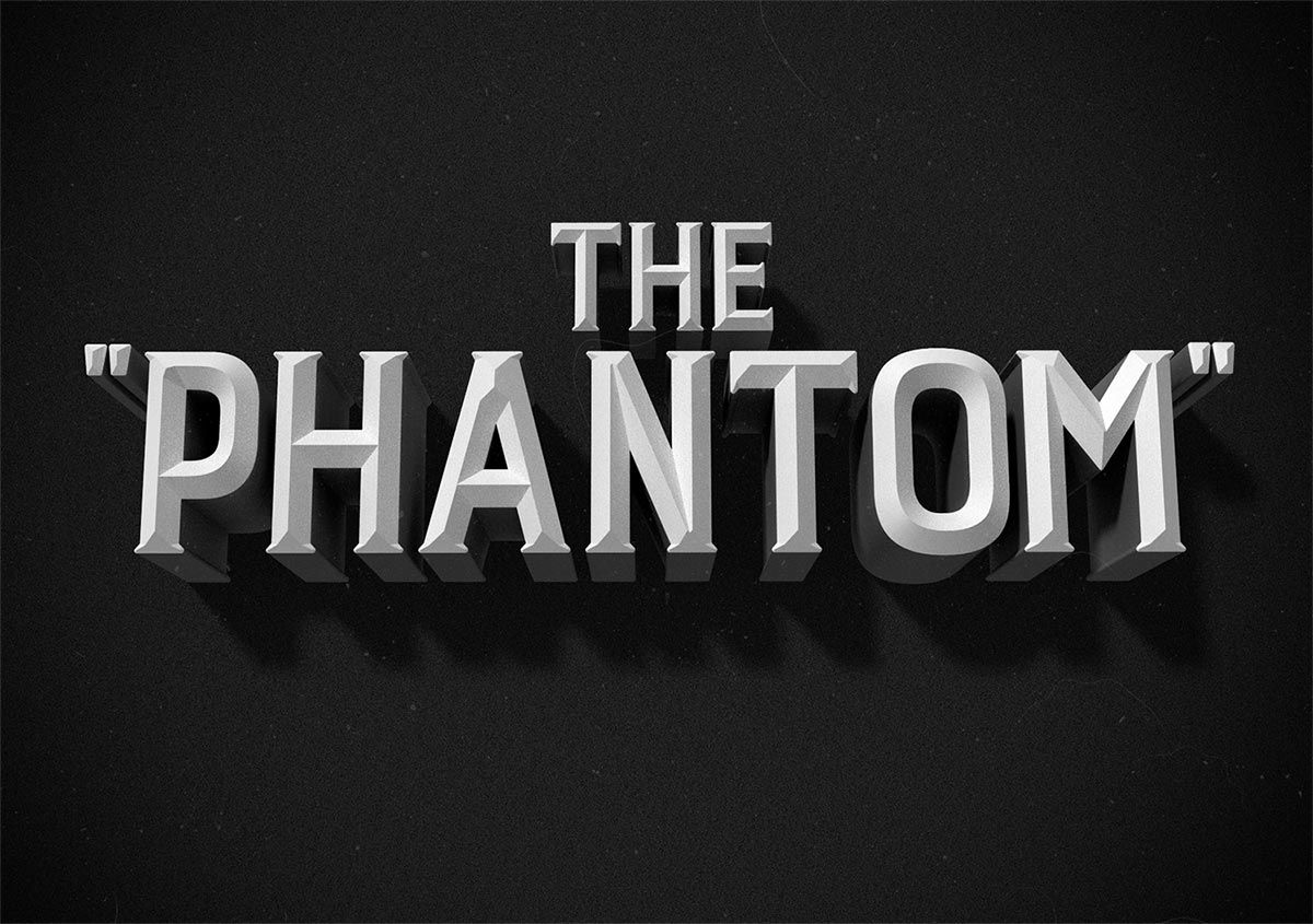 How To Create a Vintage Film Title Text Effect in