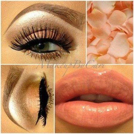 BEAUTIFUL MAKEUP FOR EVERY OCCASION #coral #eyeshadow #lipstick #makeup #partylook  - bellashoot.com