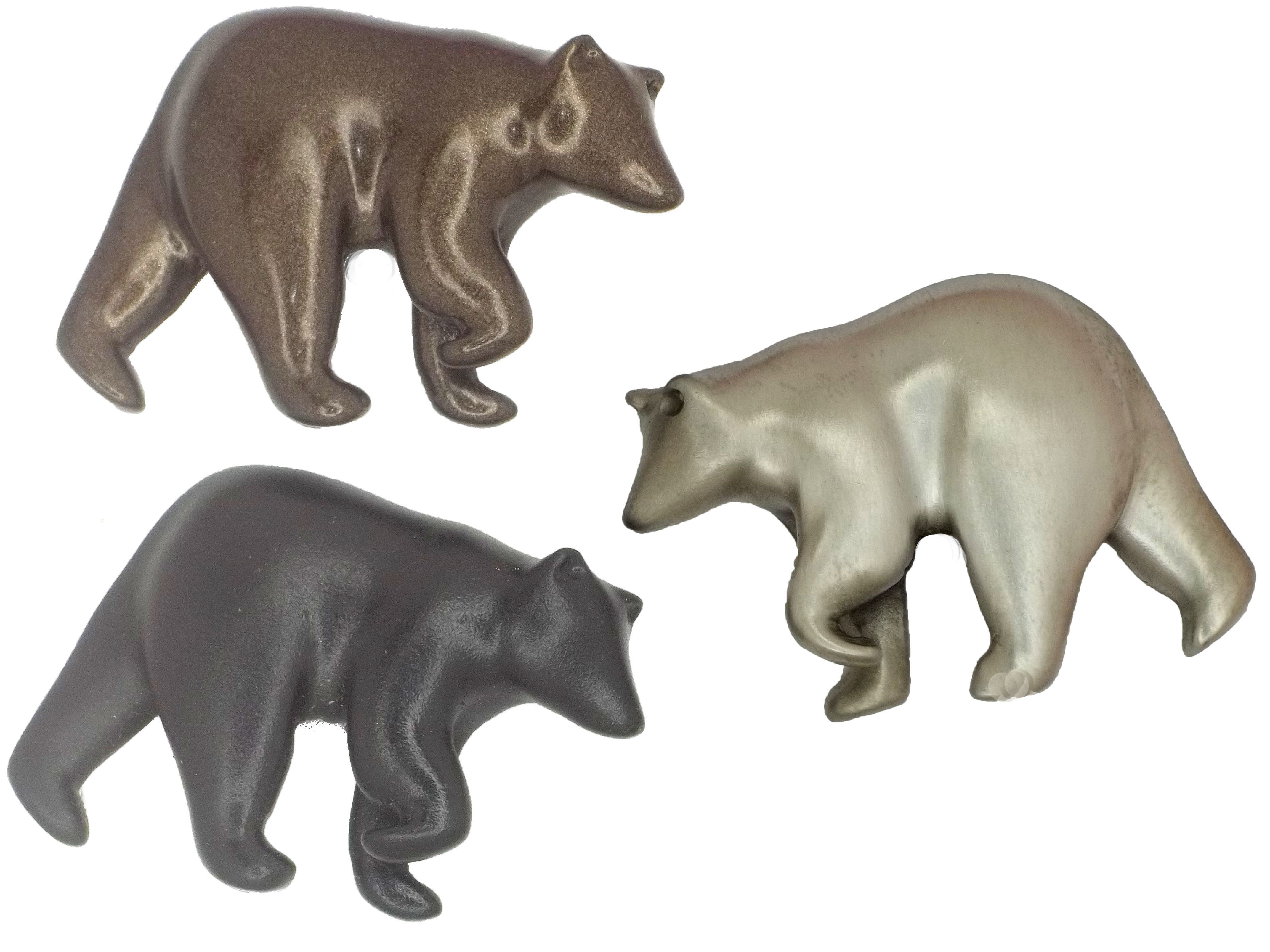 Bear Cabinet Knobs Cast In Fine Pewter. Finished In Brushed Nickel, Chrome  Or Custom Powder Coat Colors. From The Sea Life Cabinet Knobs Collection Of  Over ...