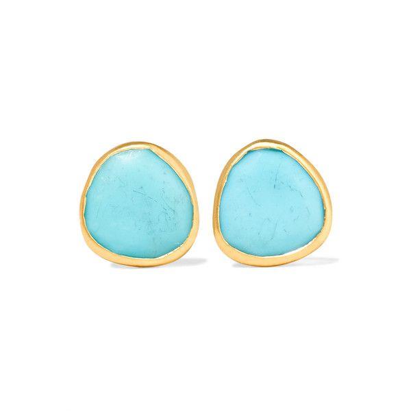 Pippa Small 18-karat Gold Turquoise Ring 2DP4jq