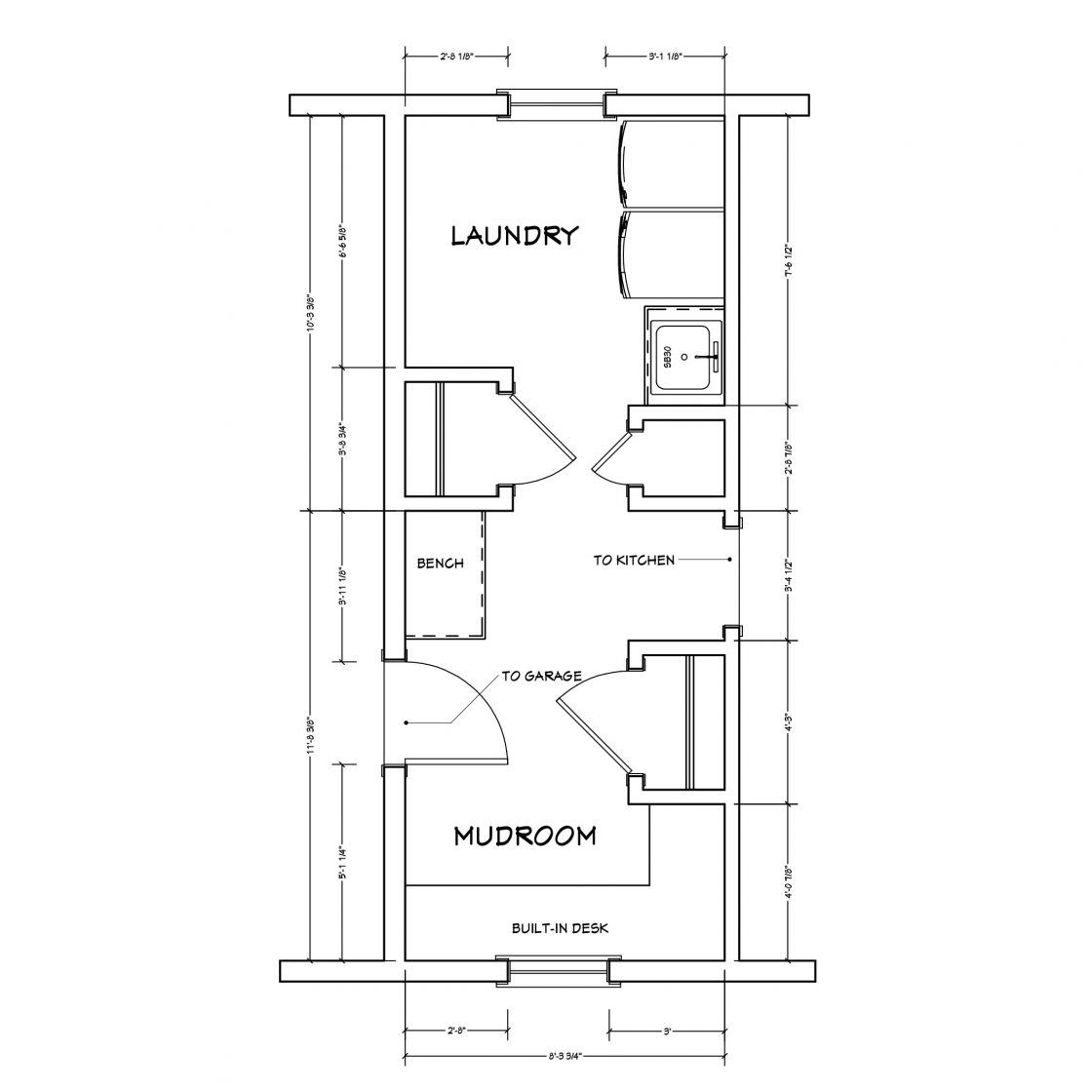 Mudroom And Laundry Room Before Plan Mudroom Floor Plan Laundry Room Flooring Laundry Room Layouts