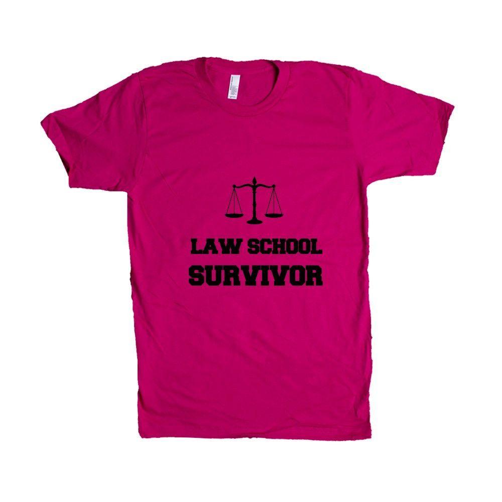 Law School Survivor Lawyer Lawyers Medical Graduate Graduating College University Student Students Gradtuates SGAL5 Unisex T Shirt