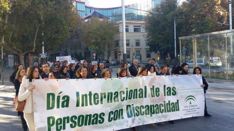 Más de 300 jiennenses, en la II Marcha Solidaria de las Personas con Discapacidad