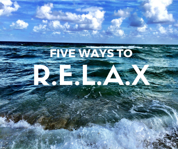 LEARNING TO RELAX - FIVE WAYS TO DE-STRESS — Portland | Grace