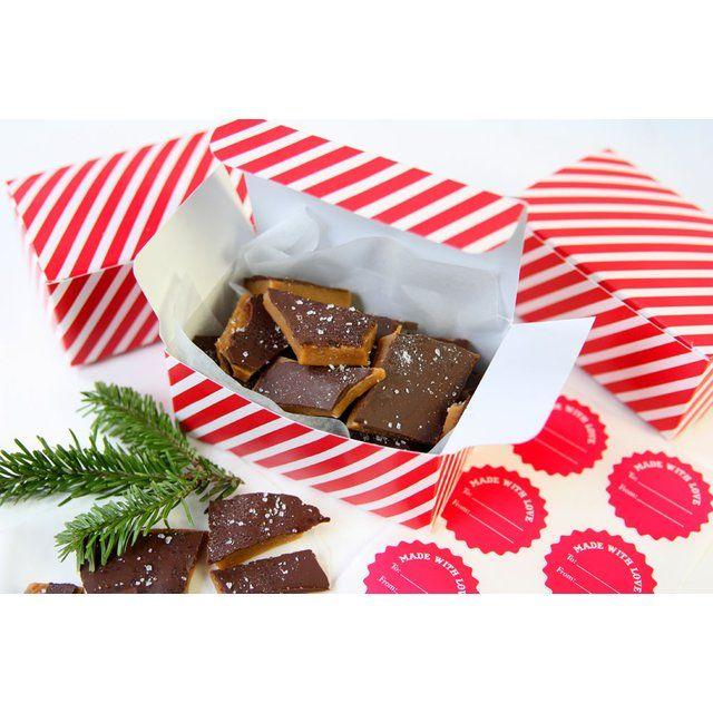The Tastiest Homemade Christmas Gift Chocolate Sea Salt Toffee