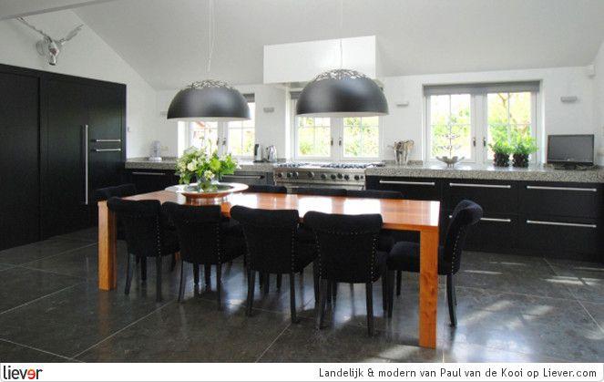 Woonkamer on pinterest pendant lamps ikea and vans - Moderne eettafels ...