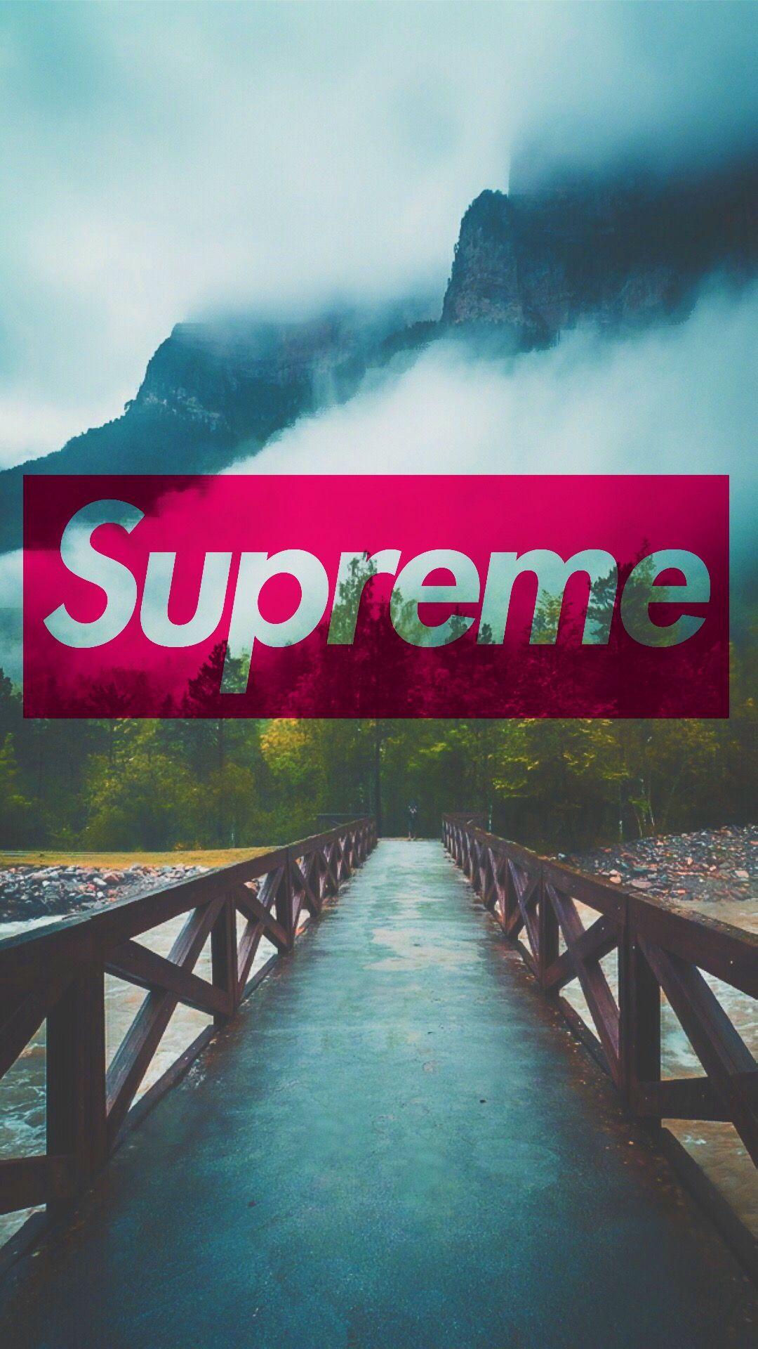 #supreme #Mountains #wallpaper   Supreme wallpaper ...