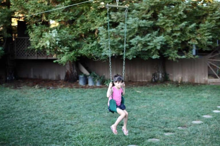 How to Make a DIY Zipline in Your Backyard - TheDIYPlan in ...