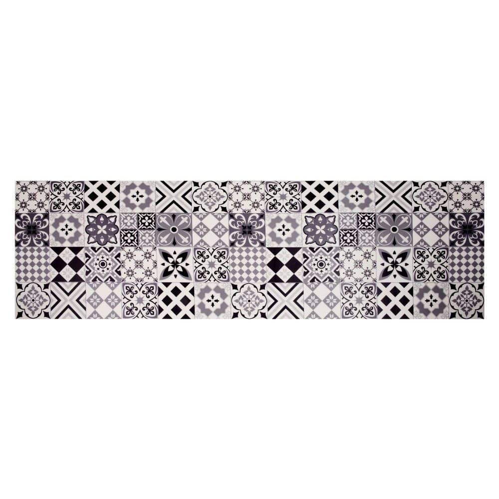 Tappeto in vinile con motivi a mattonelle 60x199 cm for Mattonelle in vinile