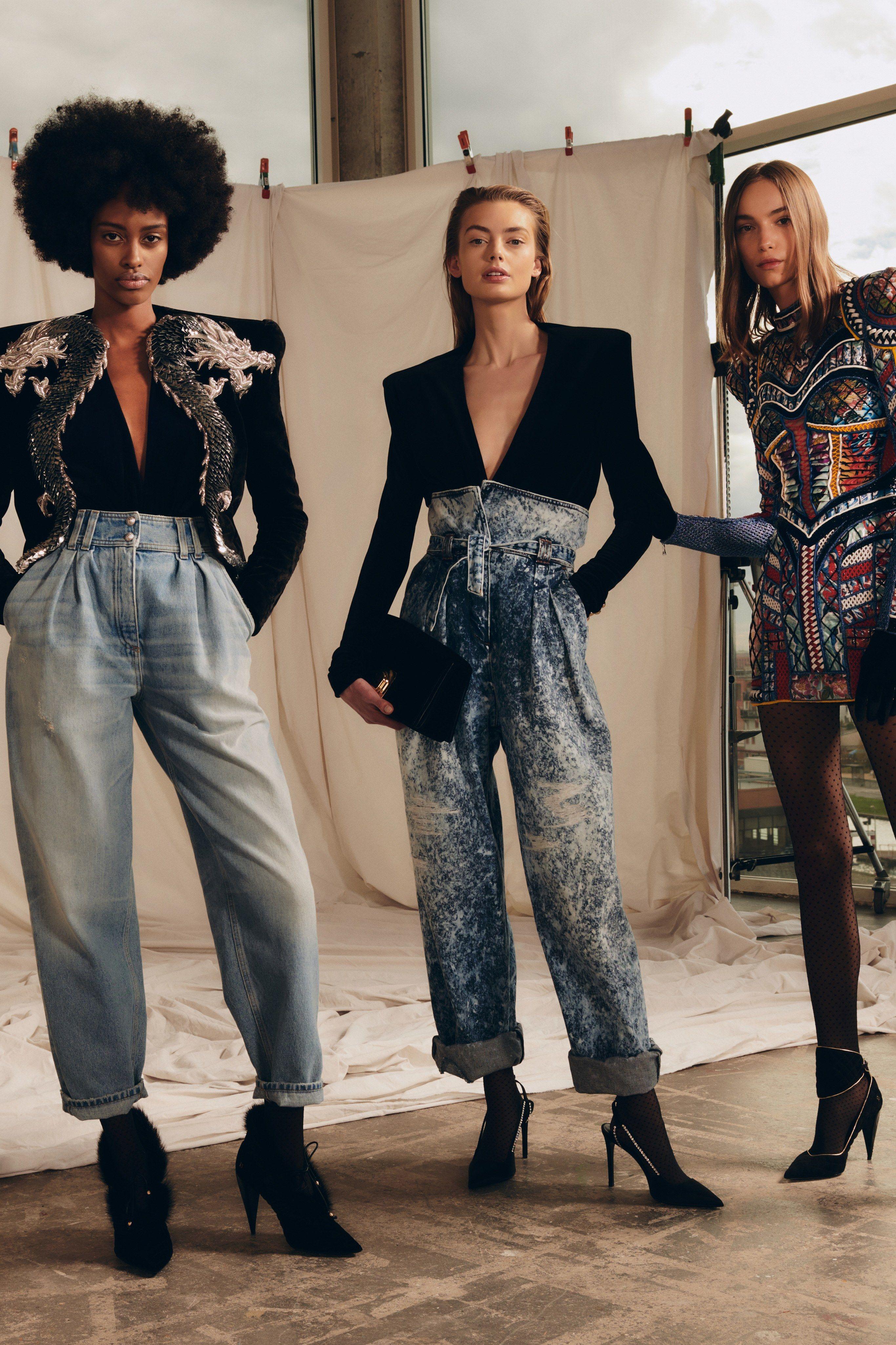 bd540b93 Balmain Pre-Fall 2019 Fashion Show in 2019   haute couture   Fashion ...
