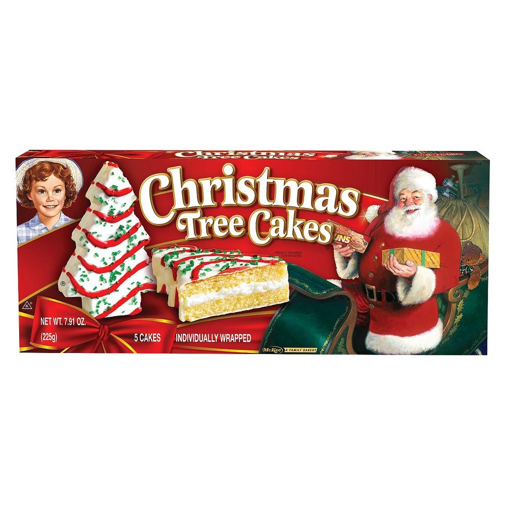 Little Debbie Christmas Tree Cakes 5ct 7 91oz Christmas Tree Cake Tree Cakes Christmas Tree