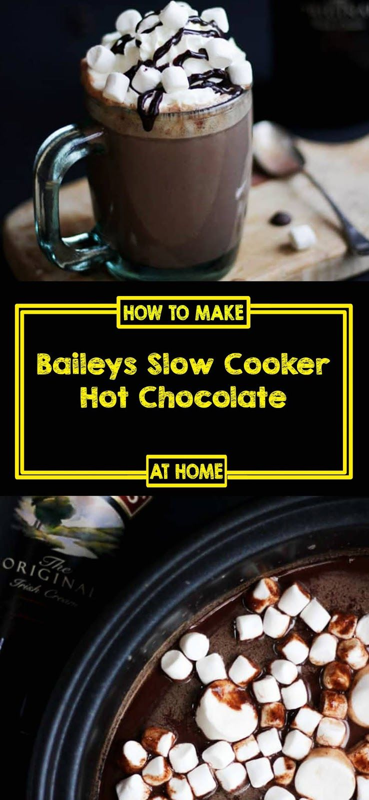 Baileys Slow Cooker Hot Chocolate