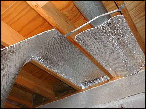 Crawl space insulation applications esp low e northeast for Floor joist insulation
