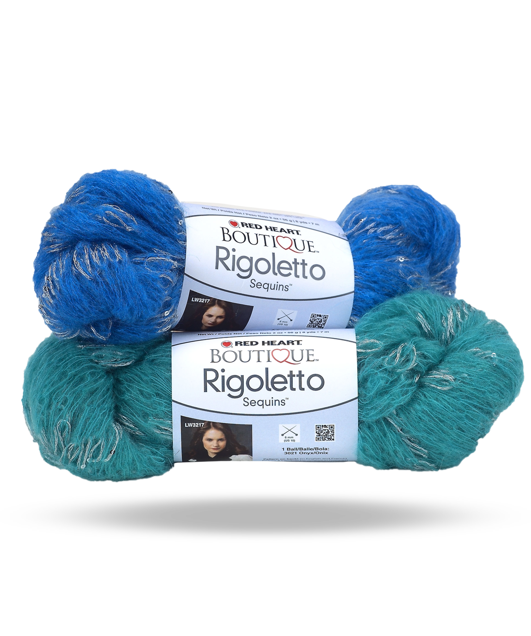 Red Heart Boutique Rigoletto Sequins Yarn is beautiful and romantic ...
