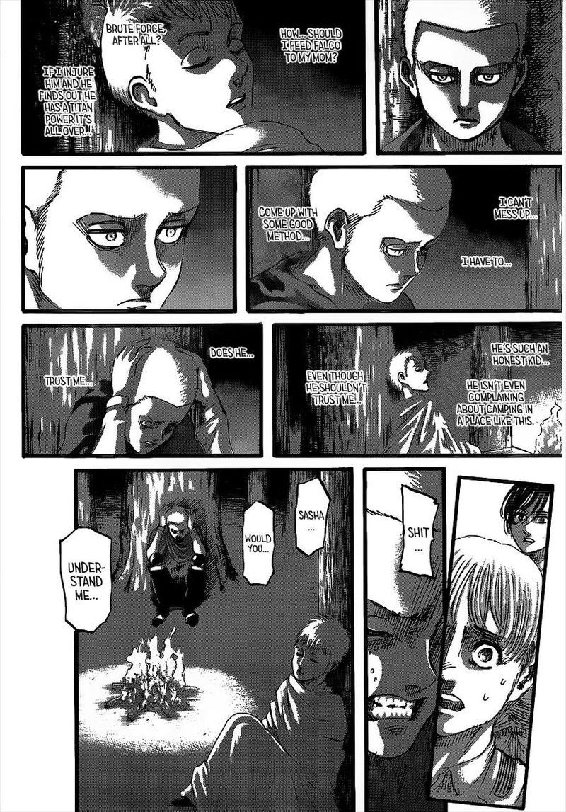 Attack On Titan Chapter 126 Pride In 2020 With Images