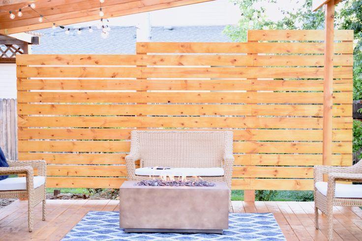 DIY Deck Privacy Wall | Diy | Pinterest | Decking, Walls and Backyard