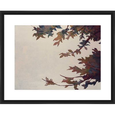 PTM Images 'Branches' Framed Painting Print