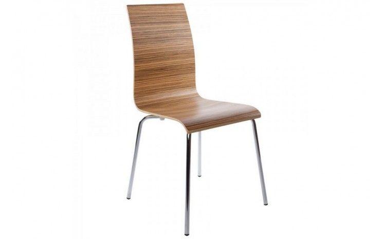 Chaise Design Bois Everest Zebrano Chaise Design Meridienne Mobilier Design