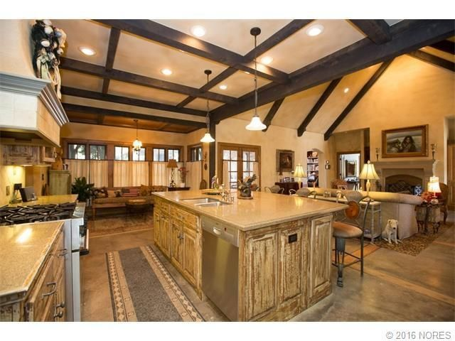 Jack Arnold Home Love The Cabinets And Cafe Curtains Home House And Home Magazine Tulsa Homes For Sale