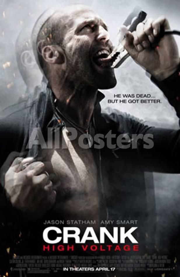 Crank2 High Voltage People Double Sided Poster 69 X 104 Cm