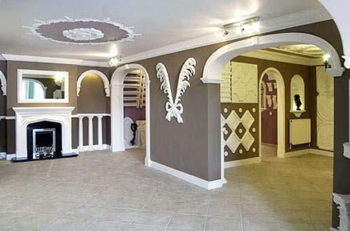 plaster of paris contractor in delhi ncr interior designers - Plaster Of Paris Wall Designs
