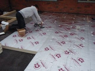 A properly specified #warm-deck #flat roof will deliver vastly improved energy efficiency over the traditional cold-deck design, whilst eliminating the risk of condensation by moving the 'dew point' outside of the structure. The initial investment is quickly off-set by reduced heating and cooling costs, and the resultant increased occupier comfort